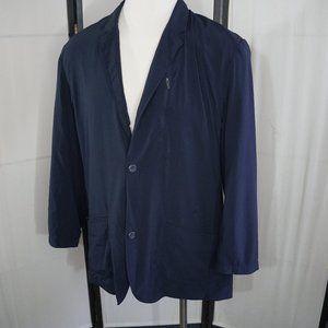 EDDIE BAUER Travel Lightweight Blazer Jacket T48